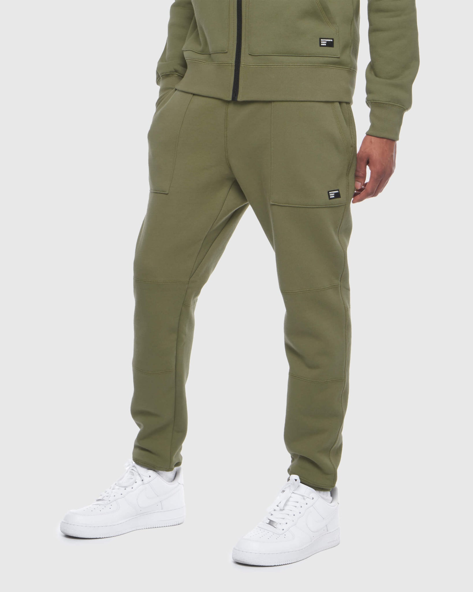 OVO THERMAL SWEATPANT - ALPHA GREEN