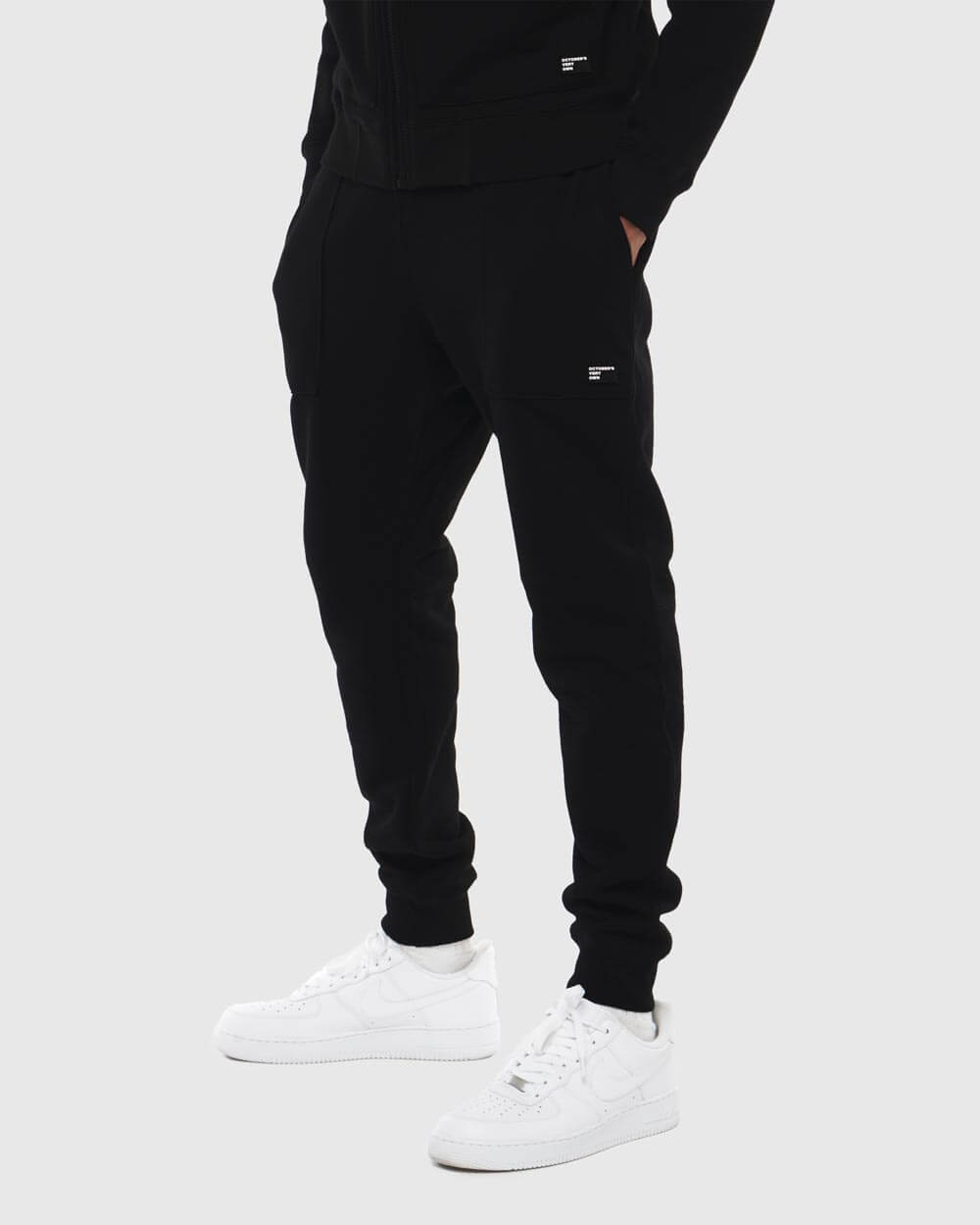 OVO THERMAL SWEATPANT - BLACK