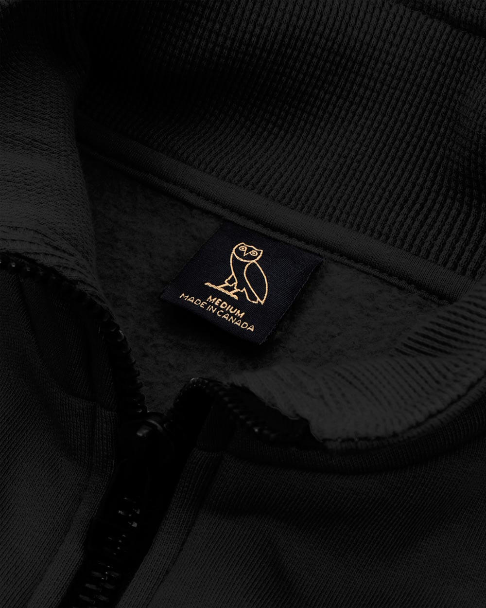 OVO THERMAL TRACK JACKET - BLACK