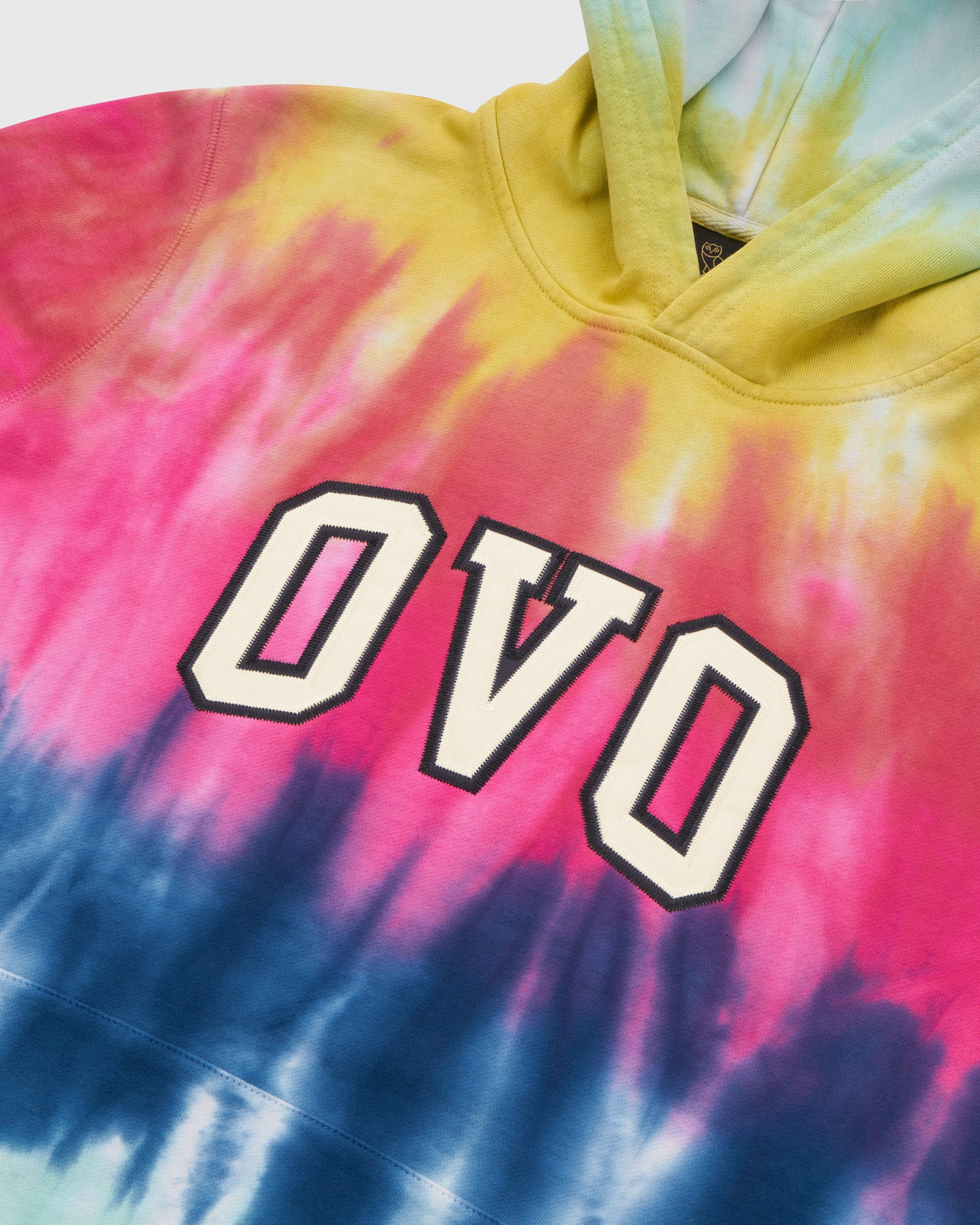 TIE DYE ARCH HOODIE - MULTI COLOUR IMAGE #4