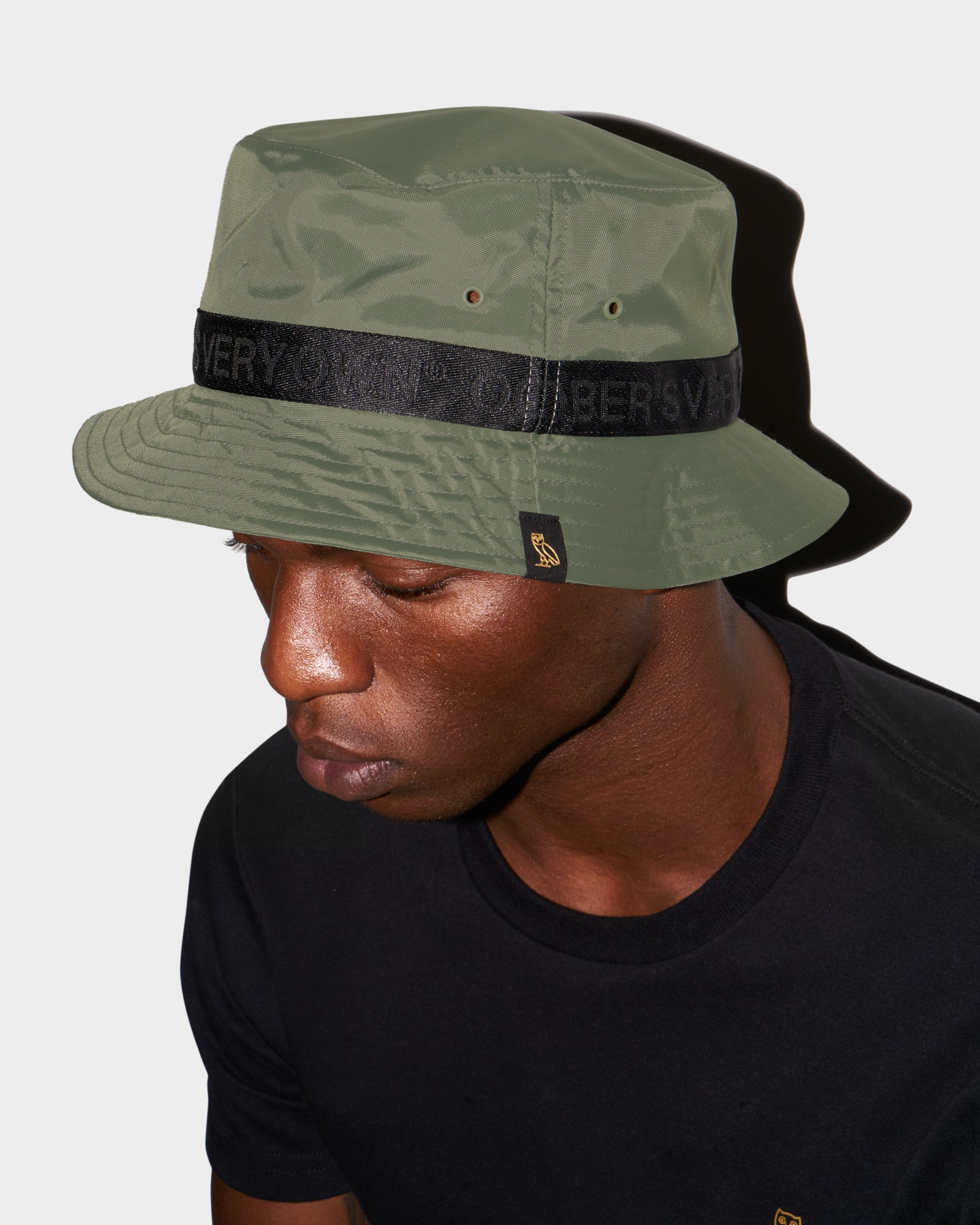 OVO NYLON BUCKET - MILITARY GREEN IMAGE #2