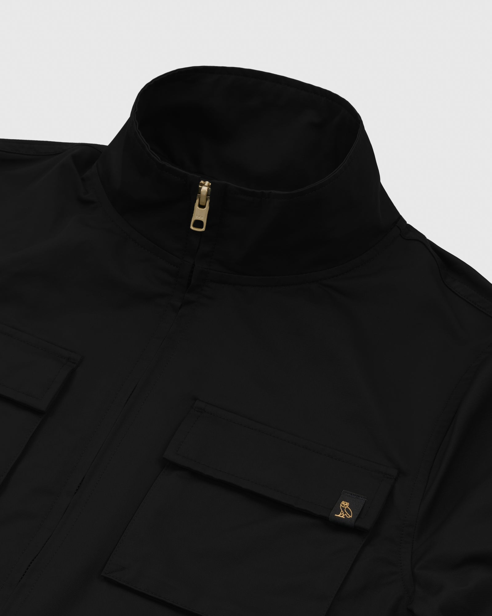 WOMEN'S OVO NYLON JACKET - BLACK IMAGE #4