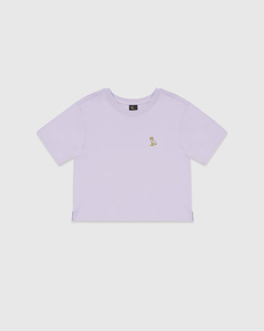 WOMEN'S OVO OWL T-SHIRT - LIGHT PURPLE