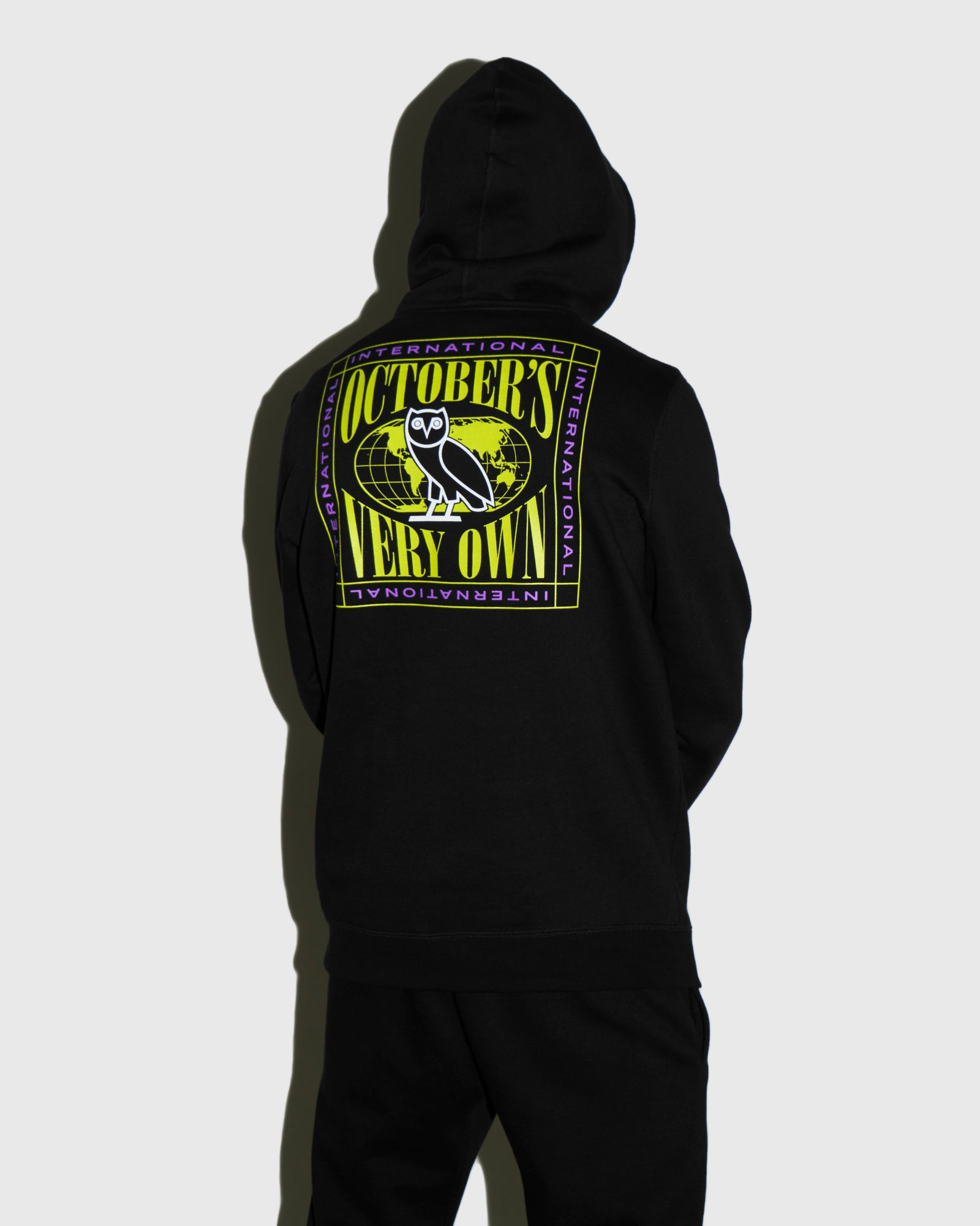 WORLD TOUR HOODIE - BLACK IMAGE #3
