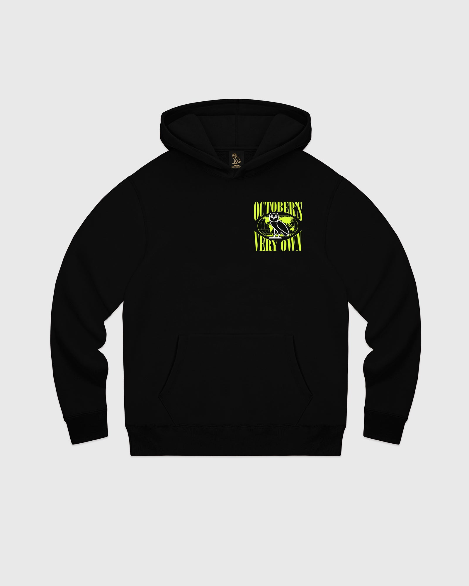 WORLD TOUR HOODIE - BLACK IMAGE #1