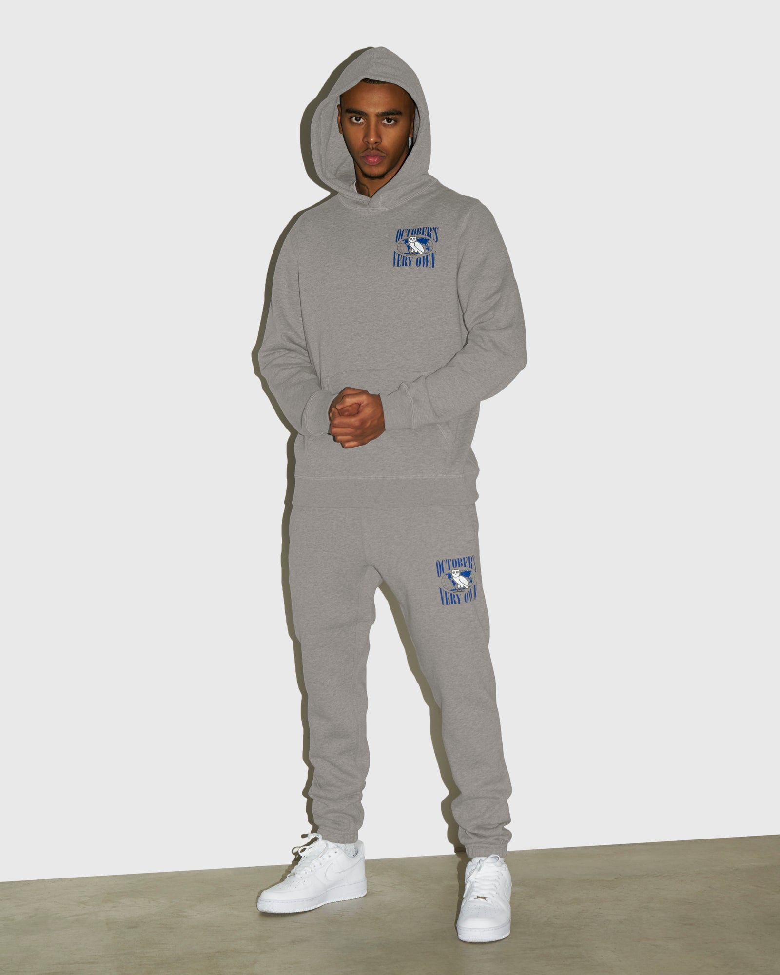 WORLD TOUR SWEATPANT - HEATHER GREY IMAGE #2