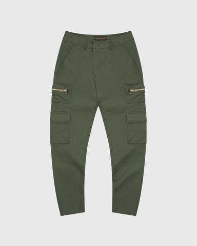 CARGO PANT - MILITARY GREEN