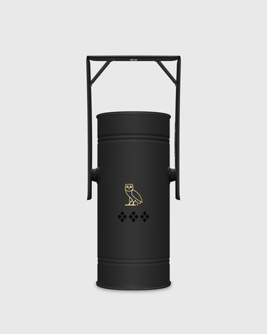 OVO x KUUMBA METAL CAN INCENSE BURNER - BLACK