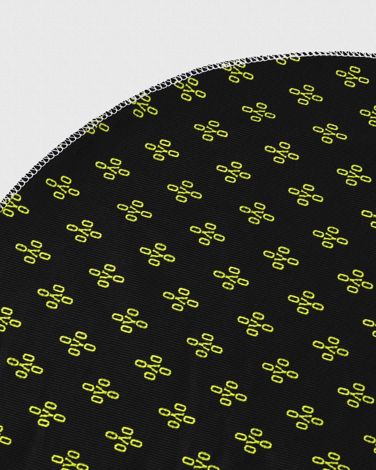 OVO x SO MANY WAVES™ MONOGRAM DURAG - BLACK/NEON GREEN IMAGE #3