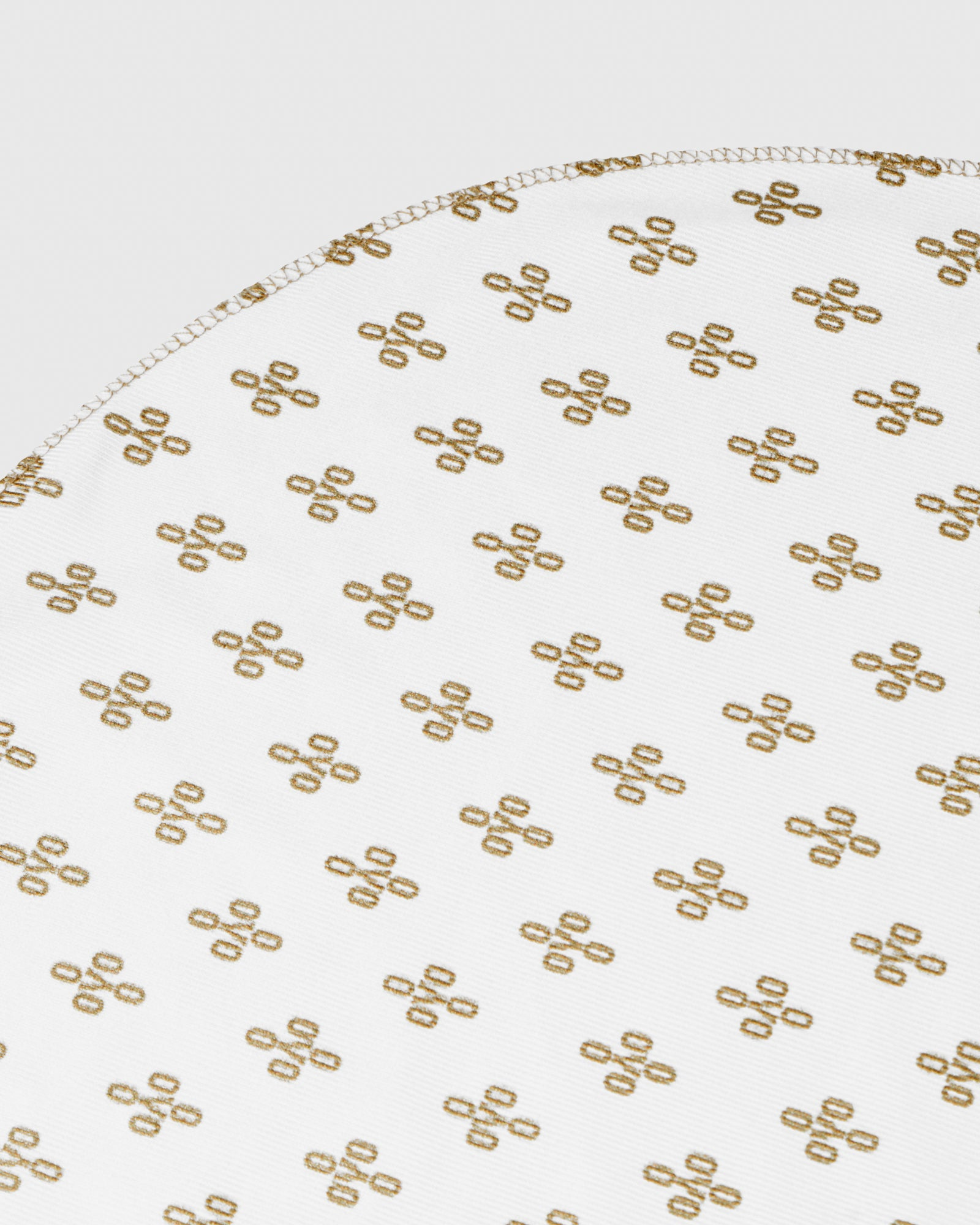 OVO x SO MANY WAVES™ MONOGRAM DURAG - WHITE/GOLD IMAGE #3