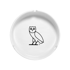 OWL LOGO ASHTRAY - WHITE