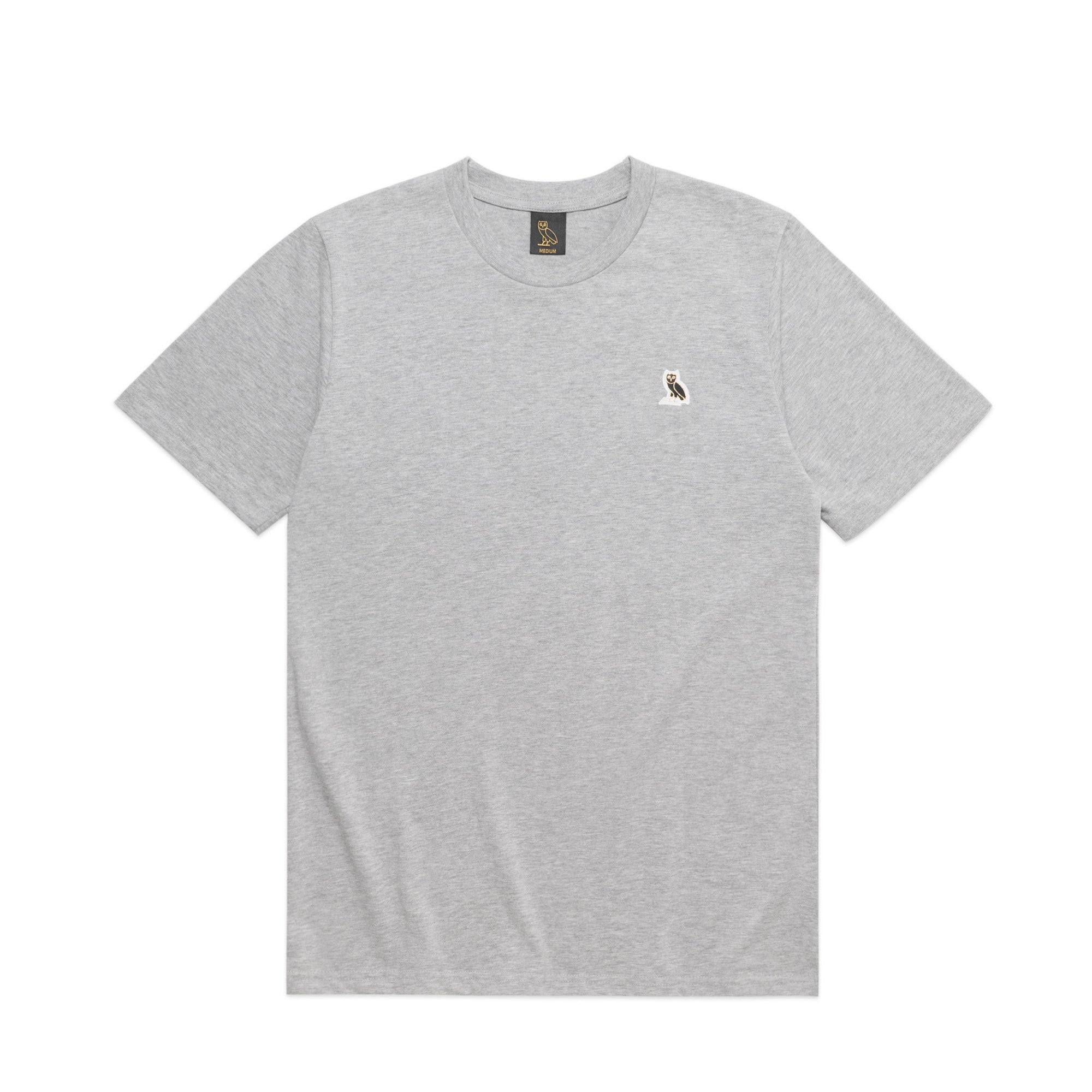 OWL LOGO PATCH TEE - GREY