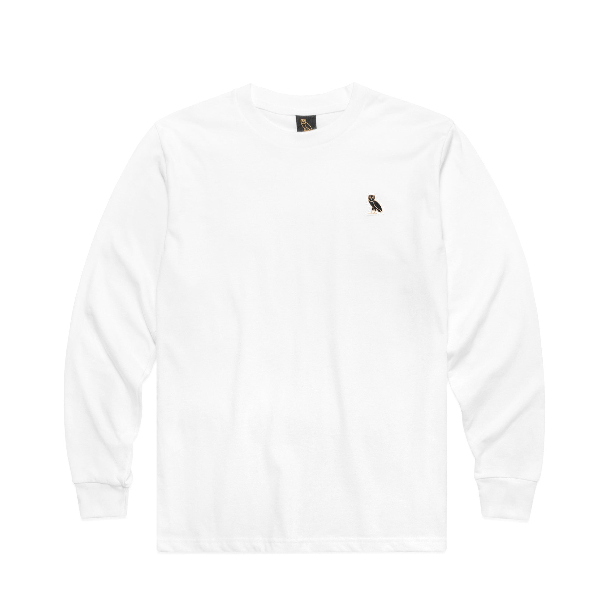 OWL LOGO PATCH LONGSLEEVE - WHITE