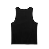 OWL LOGO PATCH TANK TOP - BLACK