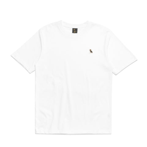 OWL LOGO PATCH TEE - WHITE