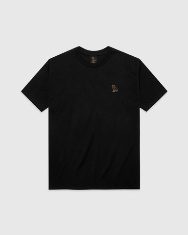 OWL T-SHIRT - BLACK
