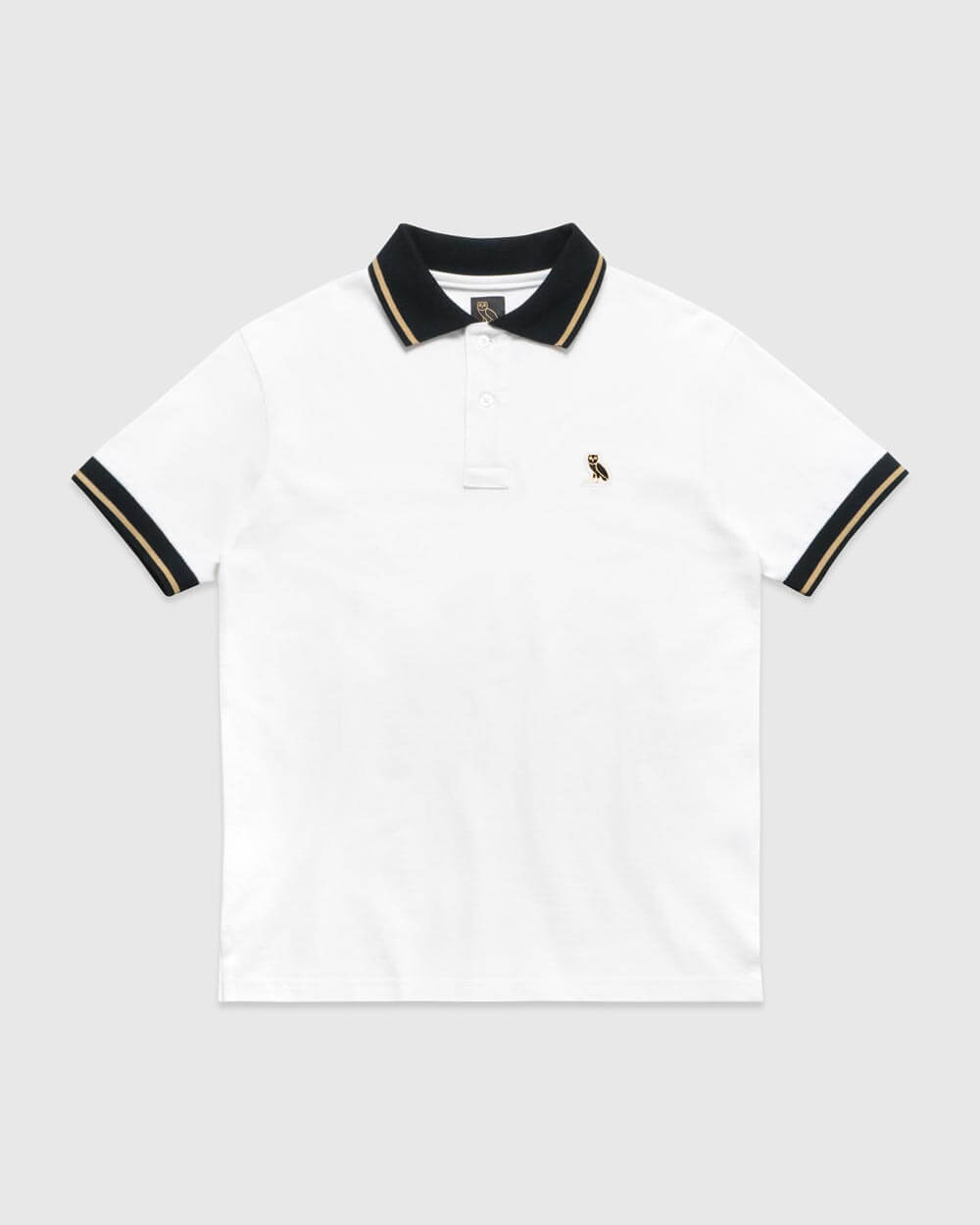 OVO ESSENTIALS POLO - WHITE IMAGE #1