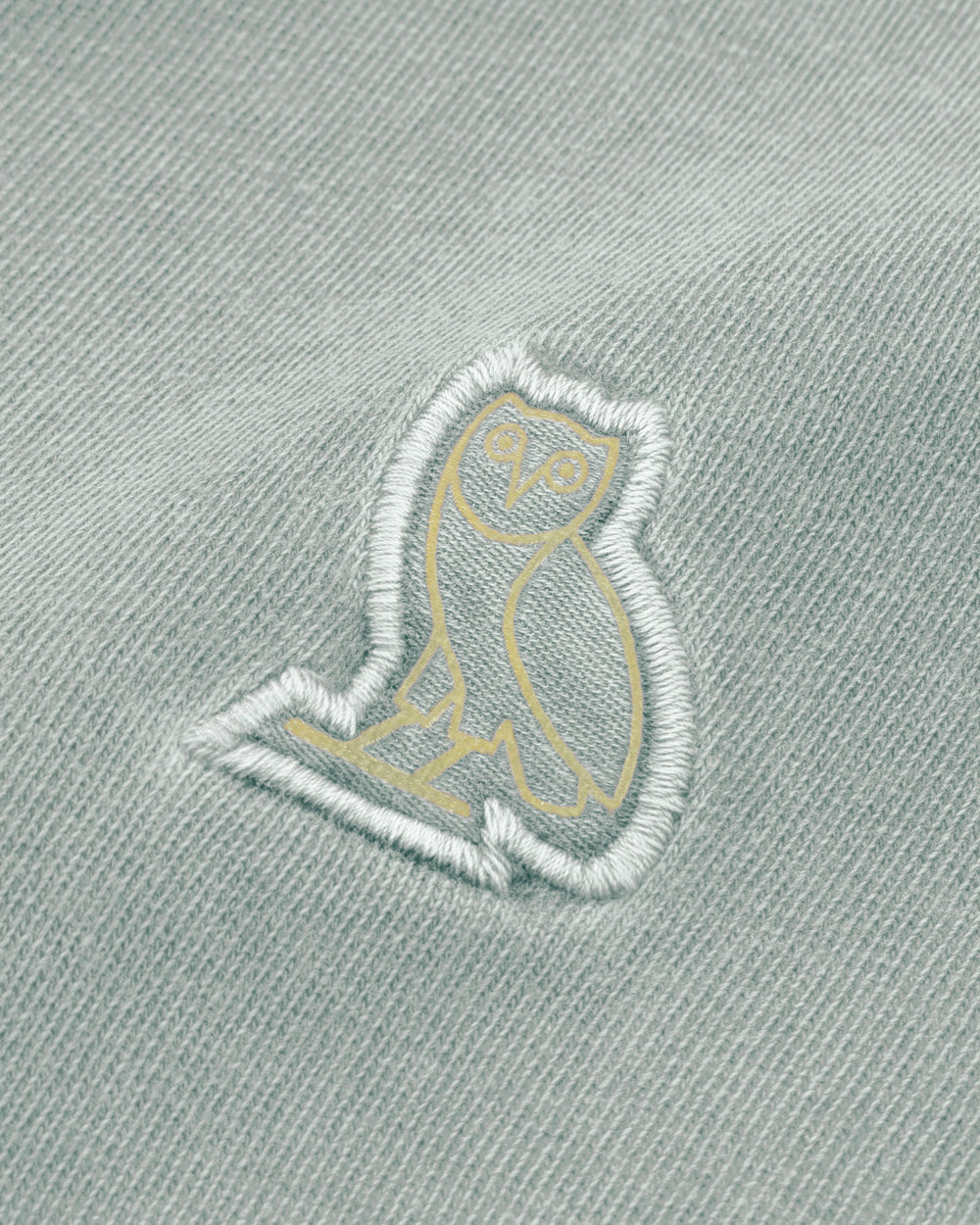 OVO PIGMENT DYE T-SHIRT - ICE BLUE