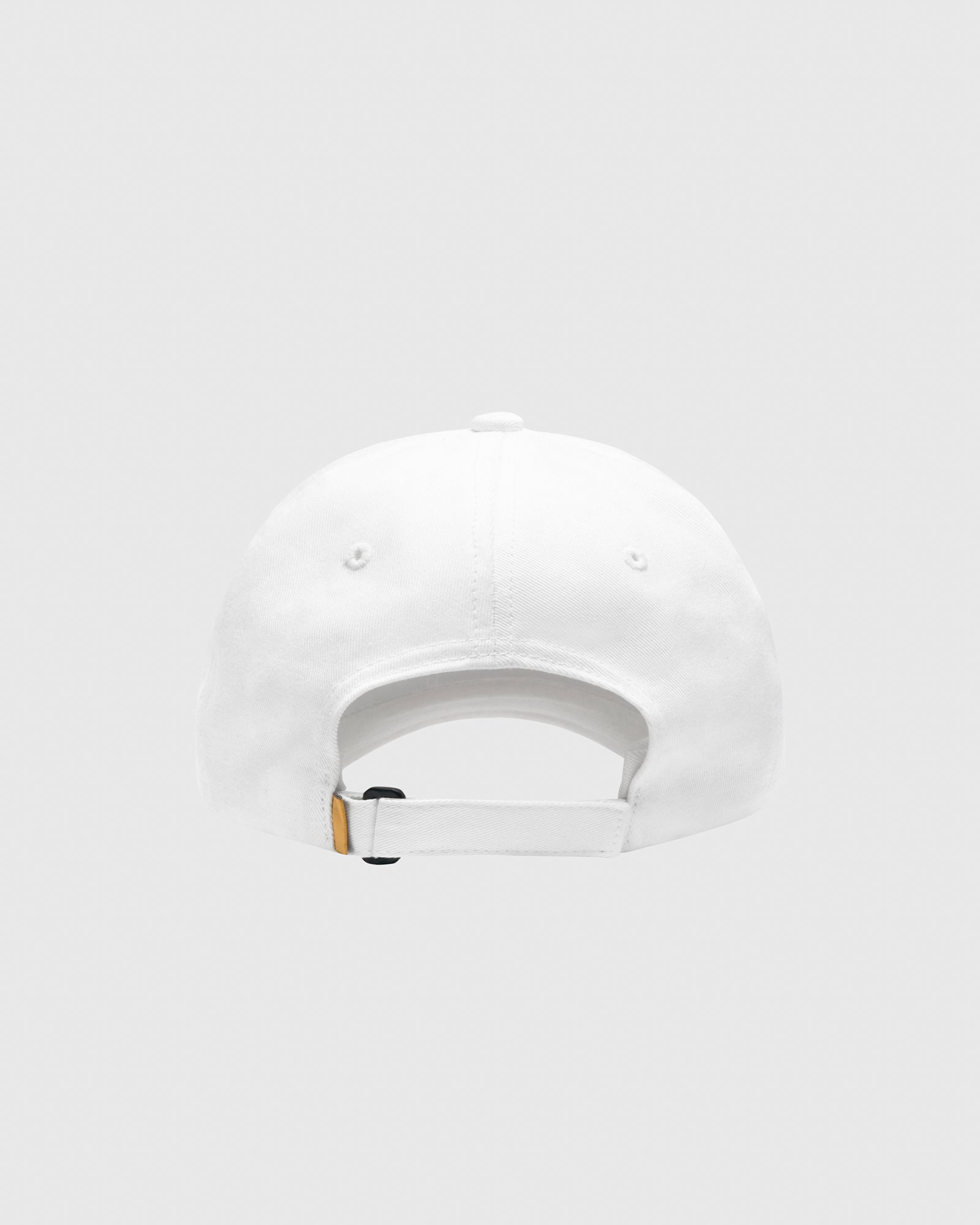 POM POM COTTON TWILL CAP - WHITE IMAGE #2