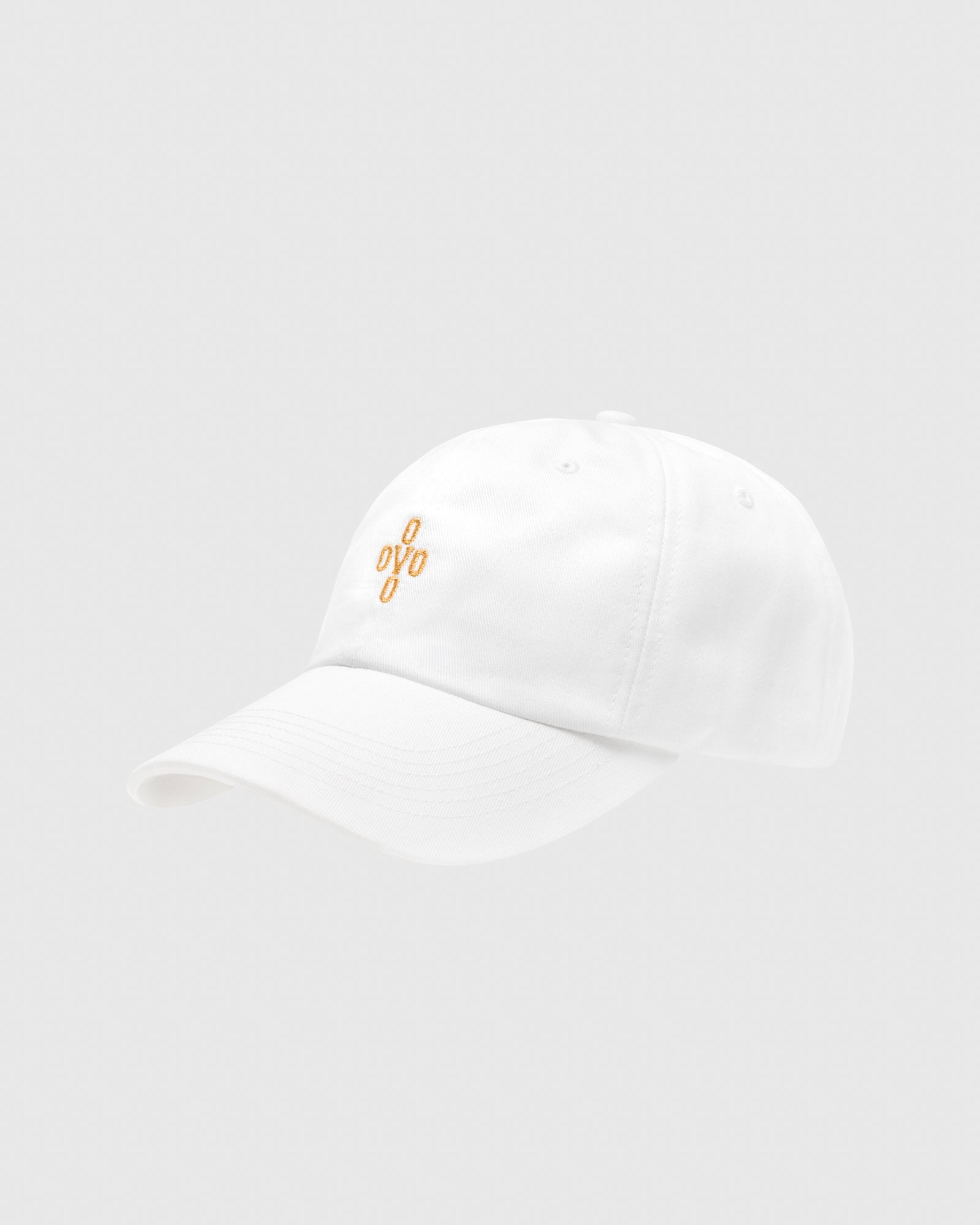 POM POM COTTON TWILL CAP - WHITE IMAGE #3