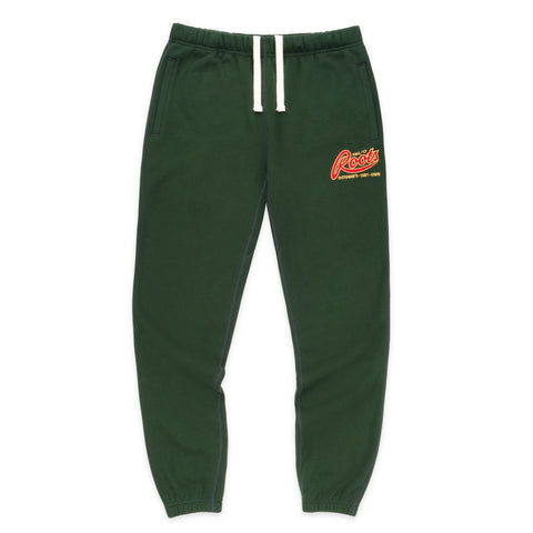 OVO x ROOTS SWEATPANT - FOREST GREEN