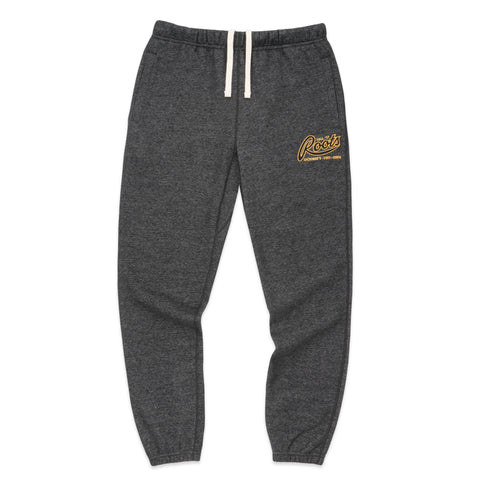 OVO x ROOTS SWEATPANT - BLACK PEPPER