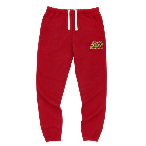 OVO x ROOTS SWEATPANT - RED