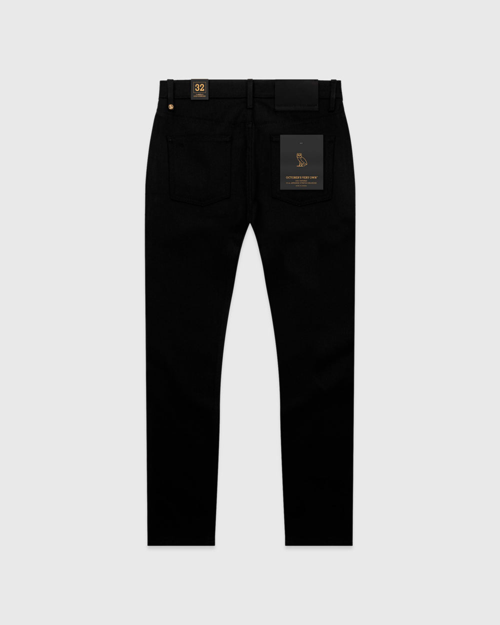 OVO SELVEDGE DENIM - BLACK IMAGE #2