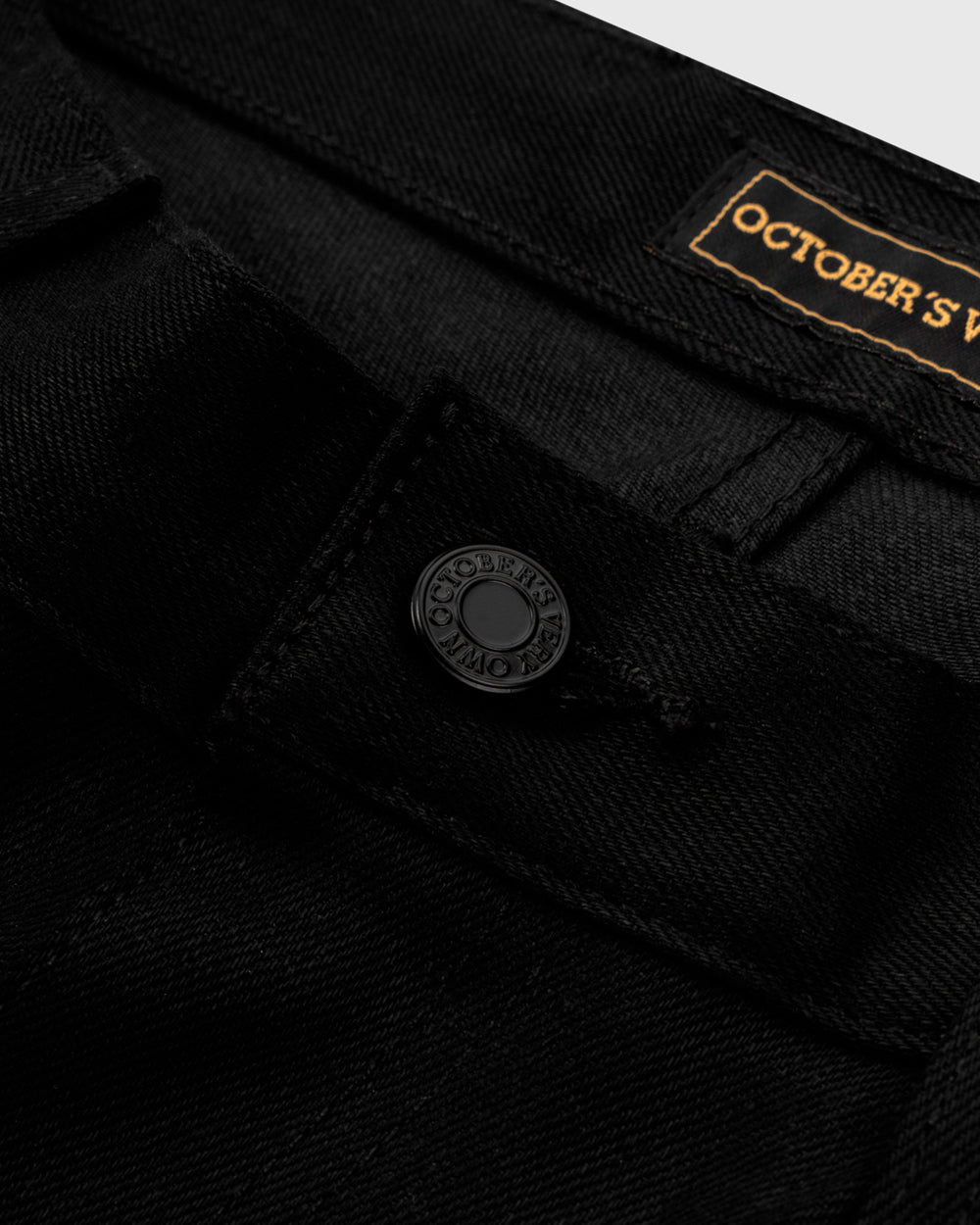 OVO SELVEDGE DENIM - BLACK IMAGE #3