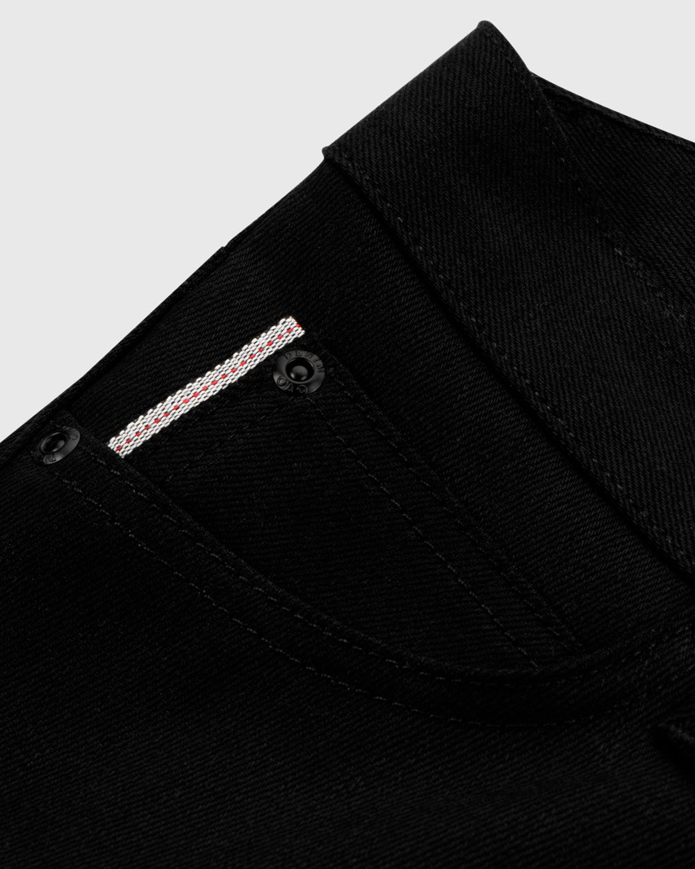OVO SELVEDGE DENIM - BLACK