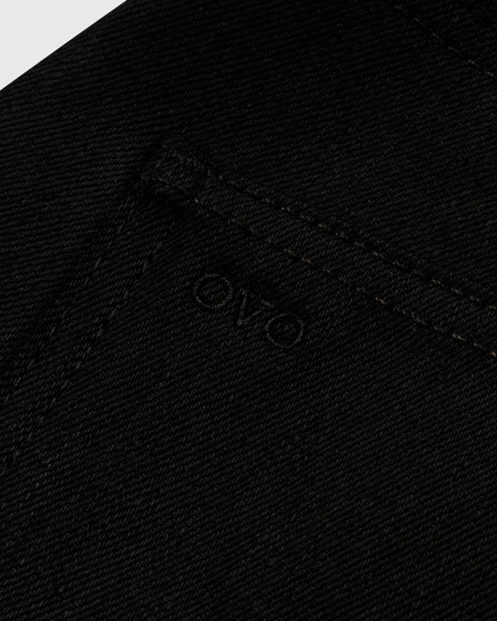 OVO SELVEDGE DENIM - BLACK IMAGE #5