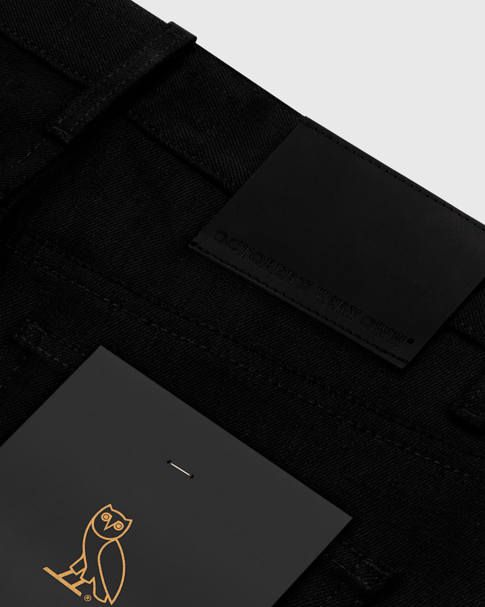 OVO SELVEDGE DENIM - BLACK IMAGE #6