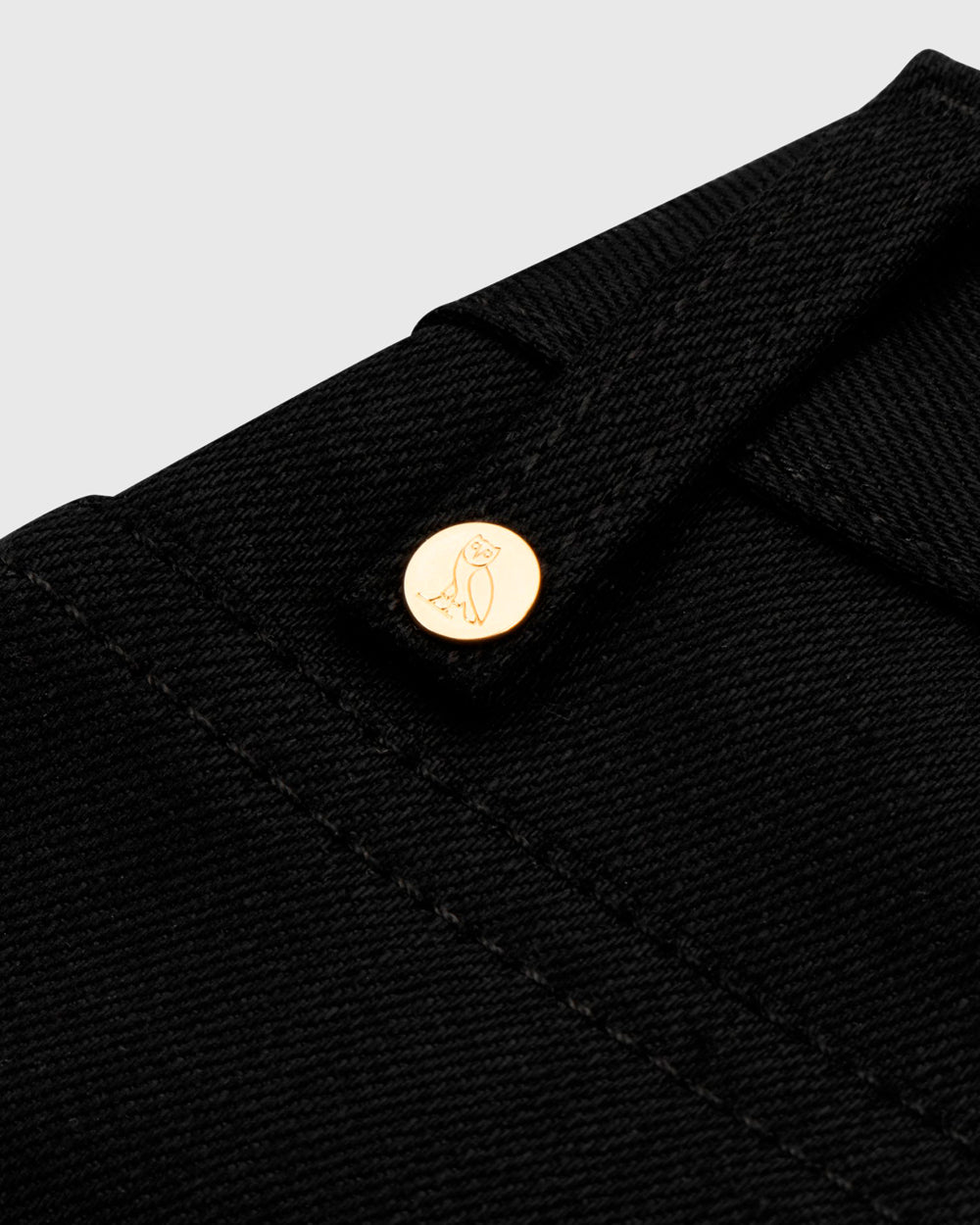 OVO SELVEDGE DENIM - BLACK IMAGE #7