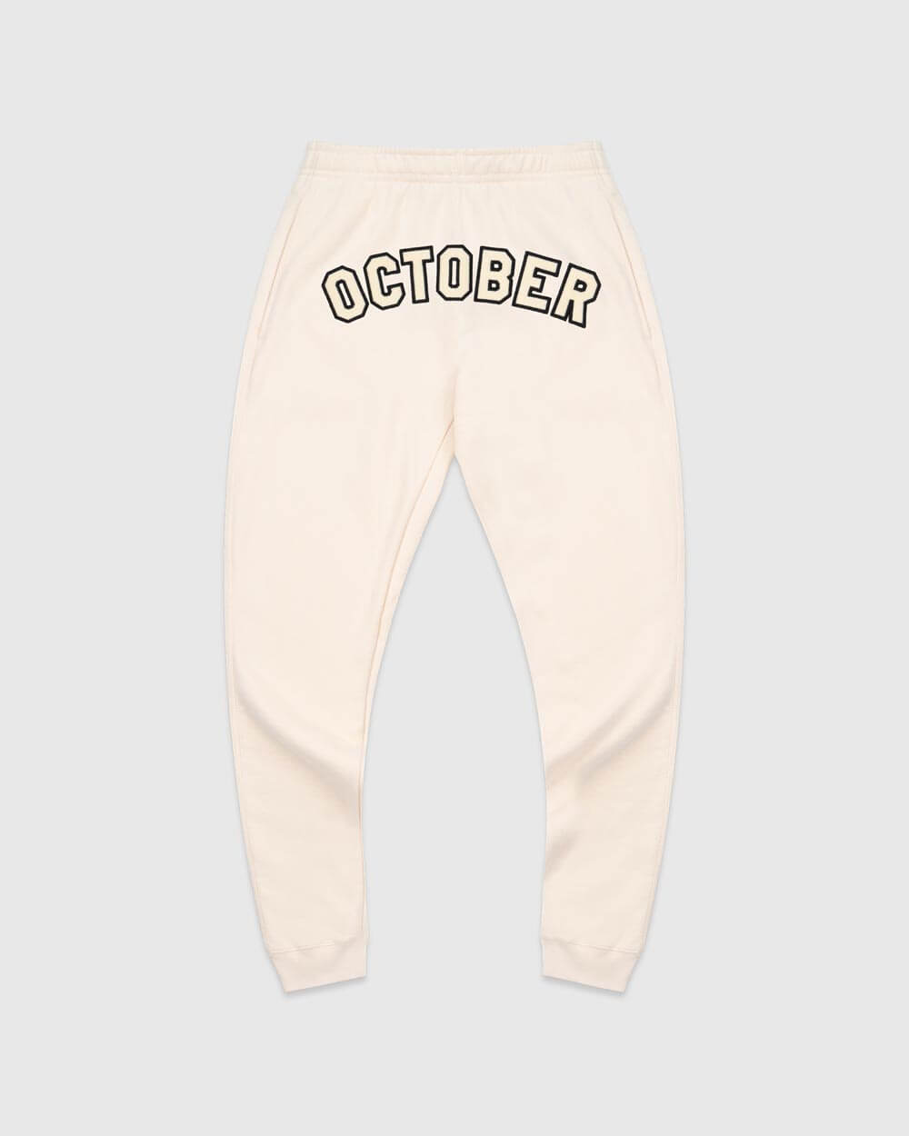 OVO TOURNAMENT SWEATPANT  - CREAM