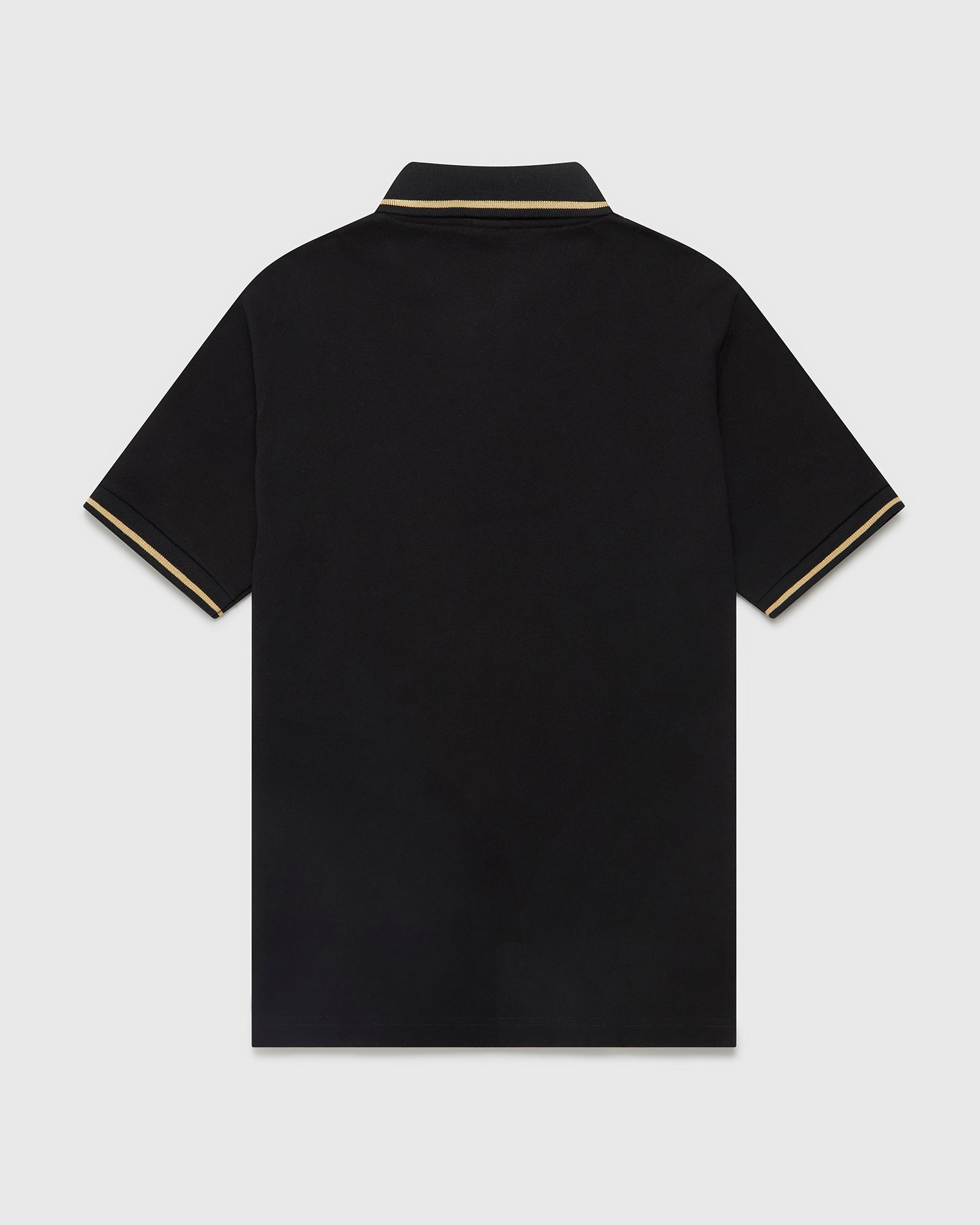 OVO ESSENTIALS POLO - BLACK IMAGE #2