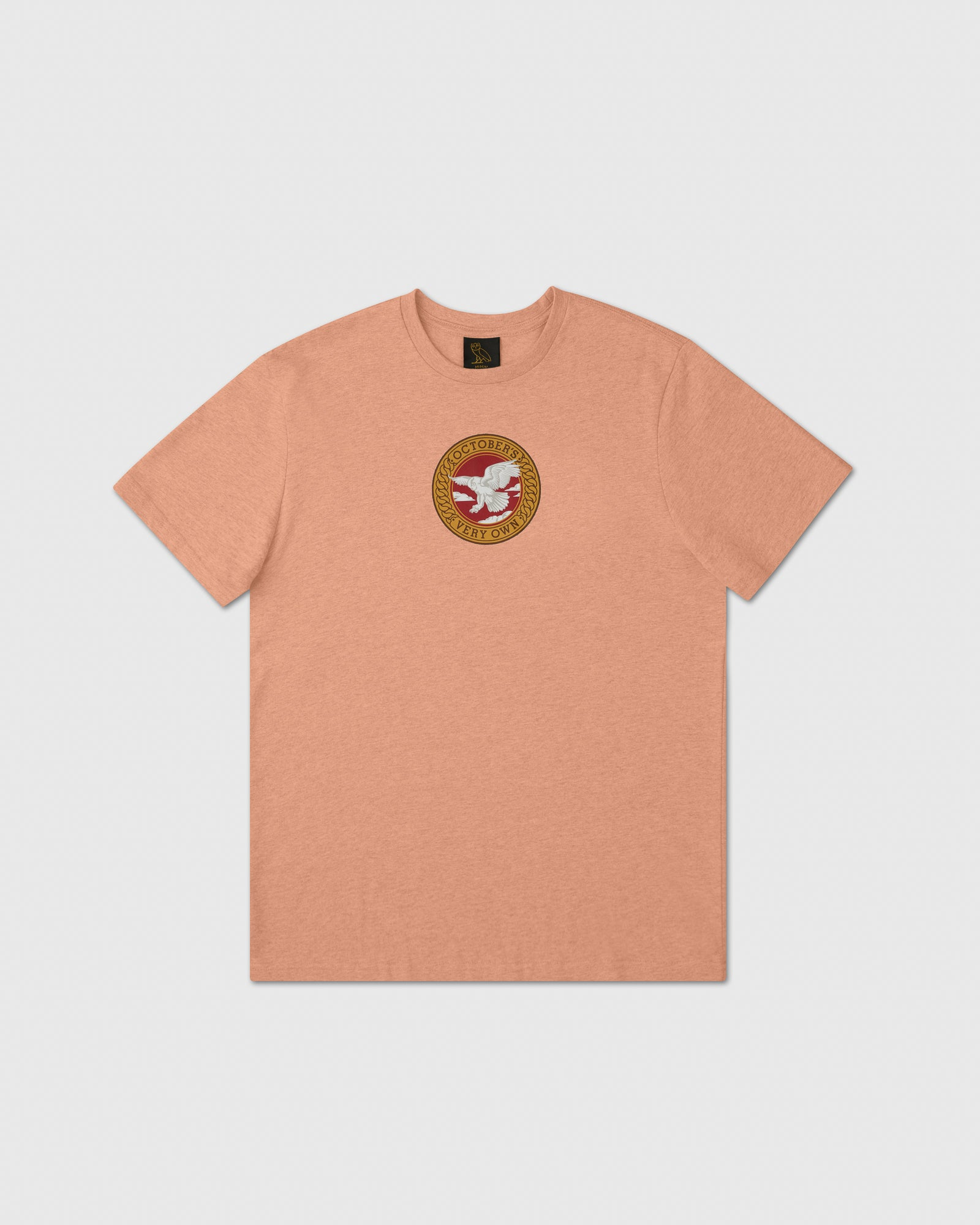 BIRD OF PREY EMBLEM T-SHIRT - HEATHER PEACH IMAGE #1