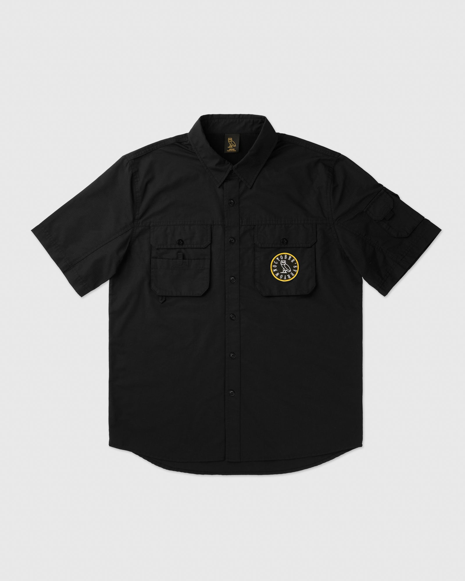 BUSH SHIRT - BLACK IMAGE #1