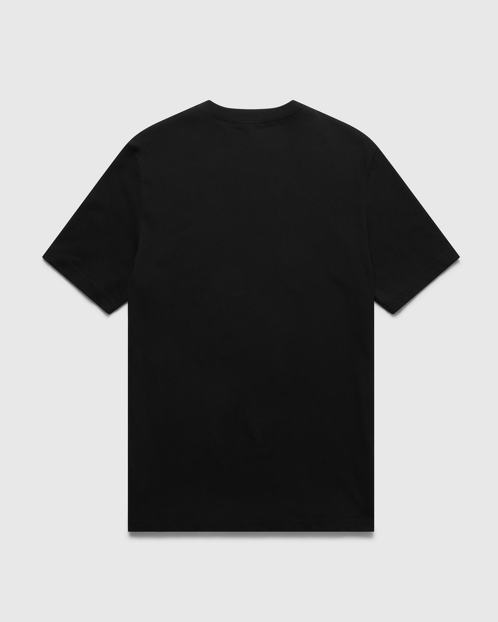 CIRCLE T-SHIRT - BLACK IMAGE #2