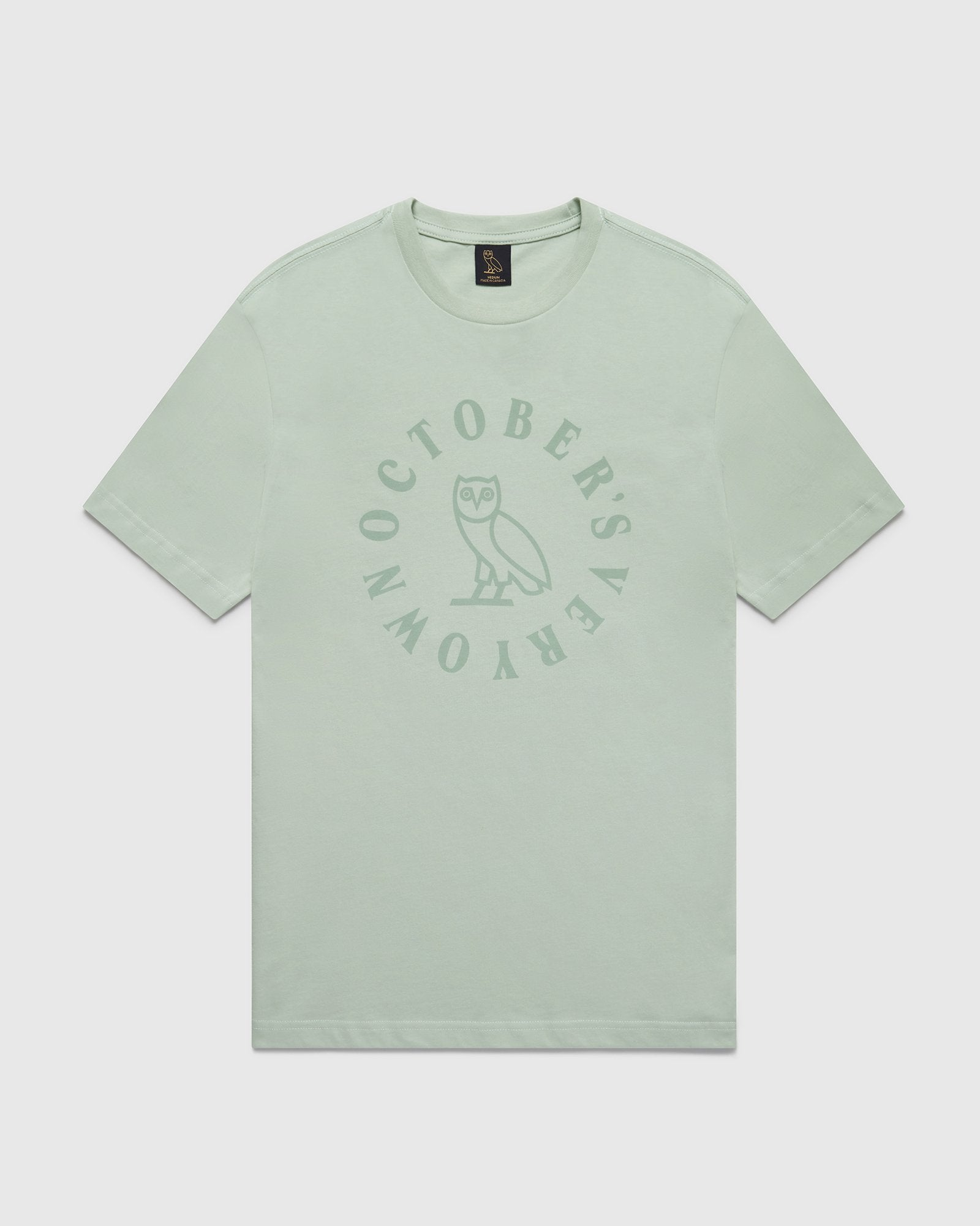 CIRCLE T-SHIRT - MINT GREEN IMAGE #1