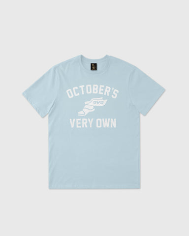 CROSS COUNTRY T-SHIRT - DUSTY BLUE