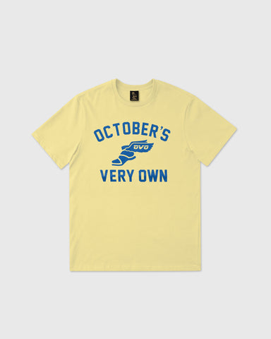 CROSS COUNTRY T-SHIRT - PALE YELLOW