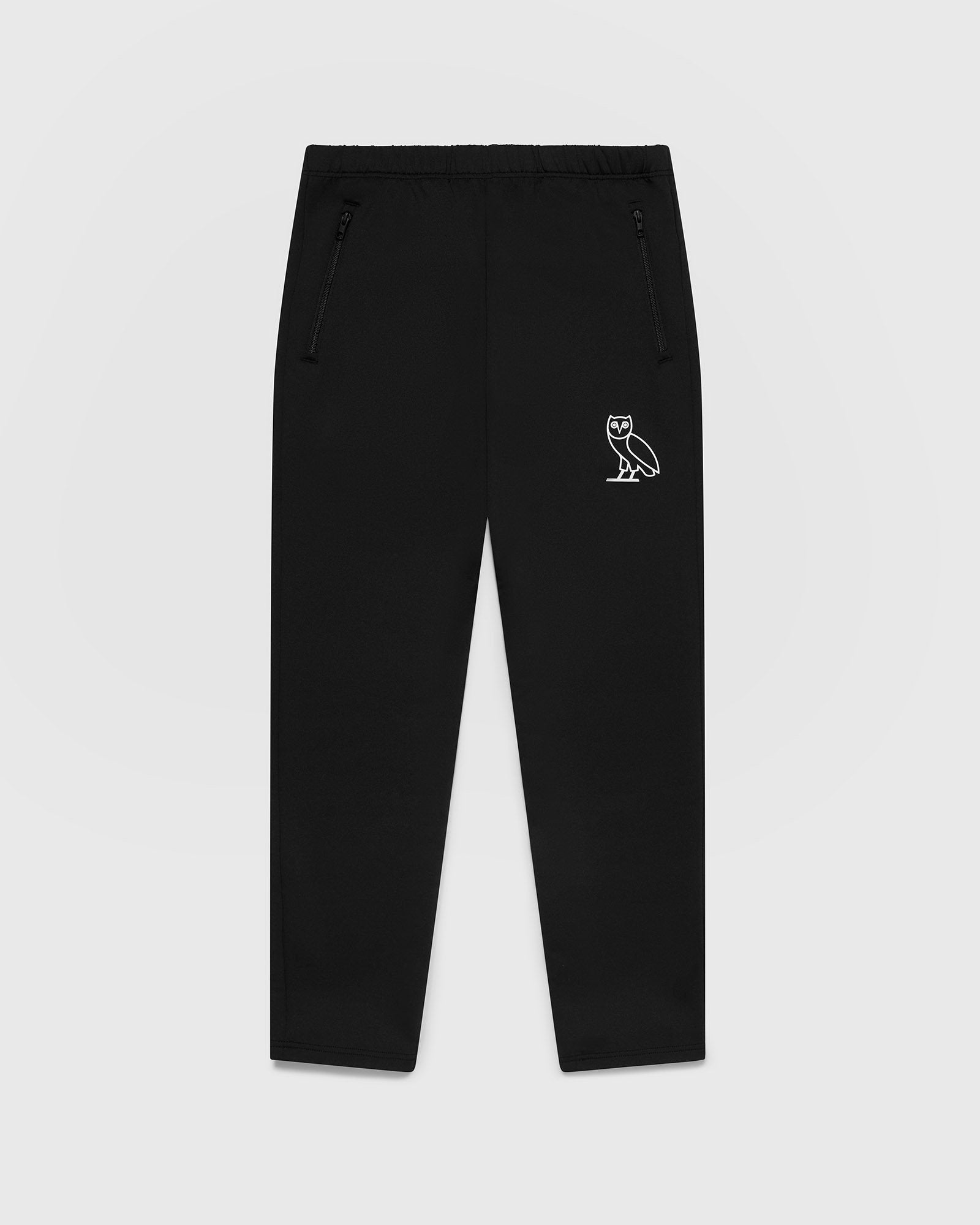 DOUBLE KNIT TRACK PANT - BLACK IMAGE #1