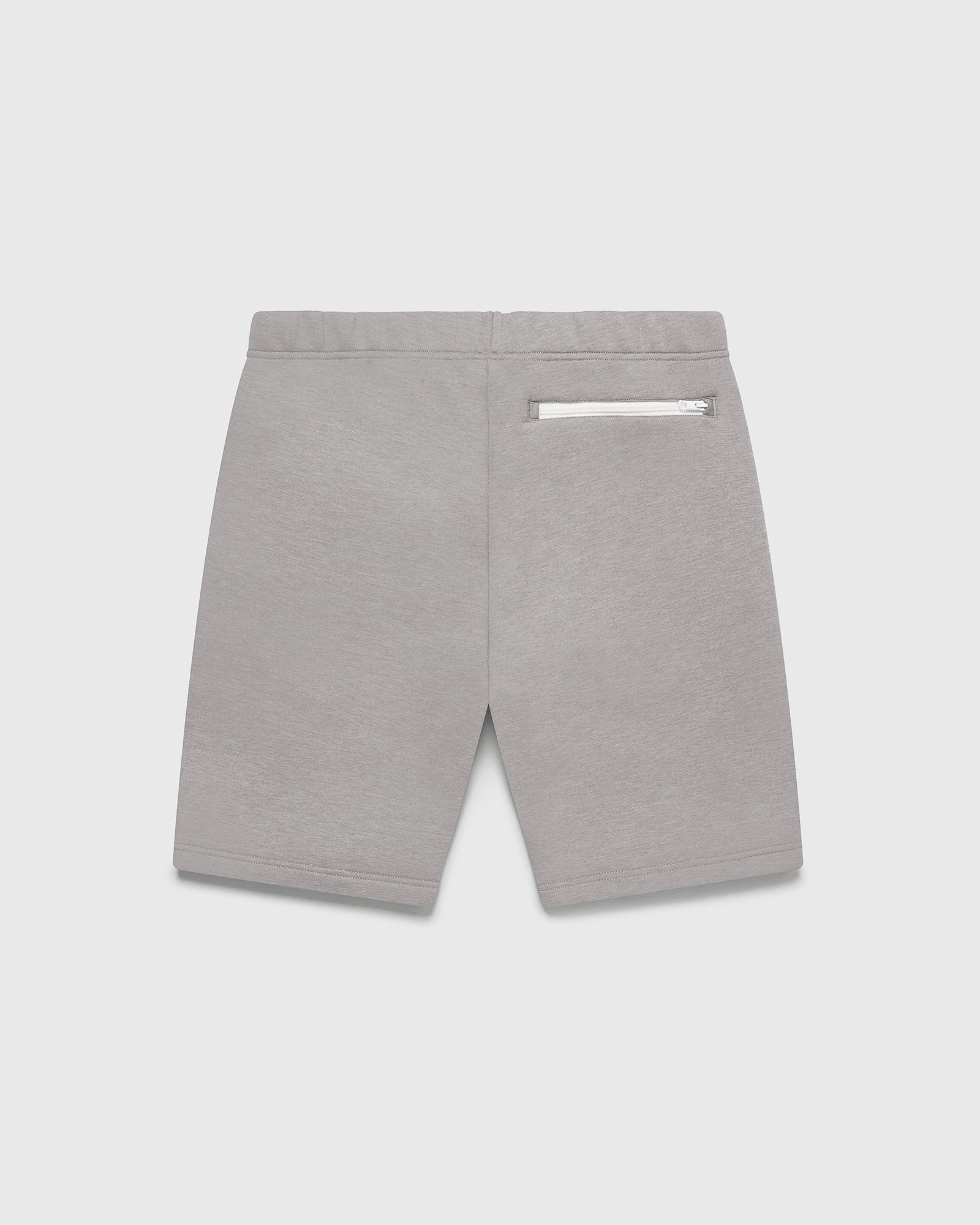 DOUBLE KNIT TRACK SHORT - STORM GREY IMAGE #2