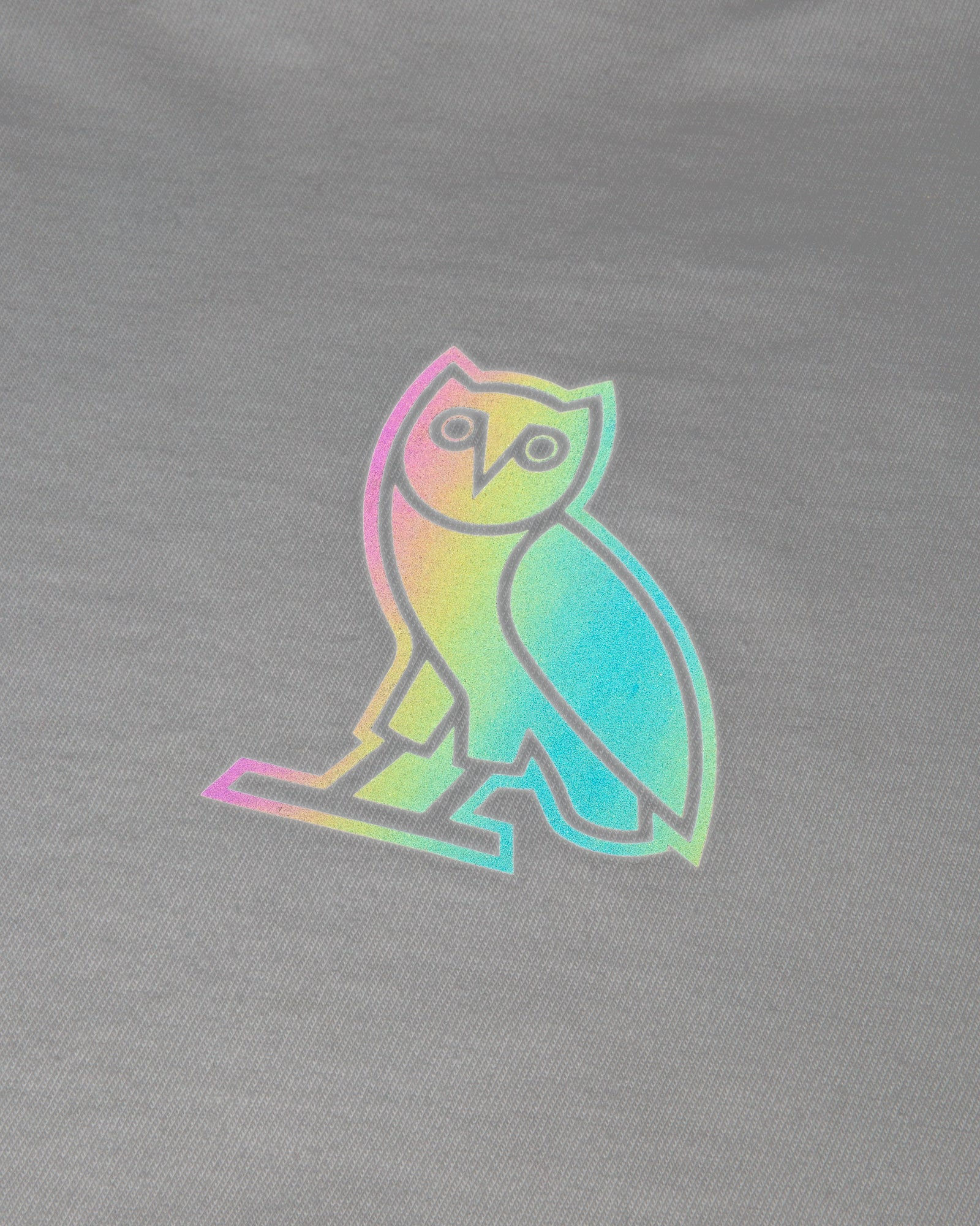 HOLOGRAM OWL T-SHIRT - WHITE IMAGE #3