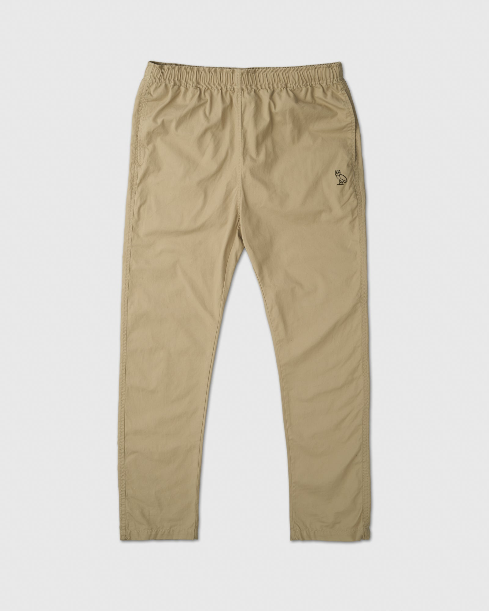 LIGHTWEIGHT WOVEN PANT - SAND IMAGE #1