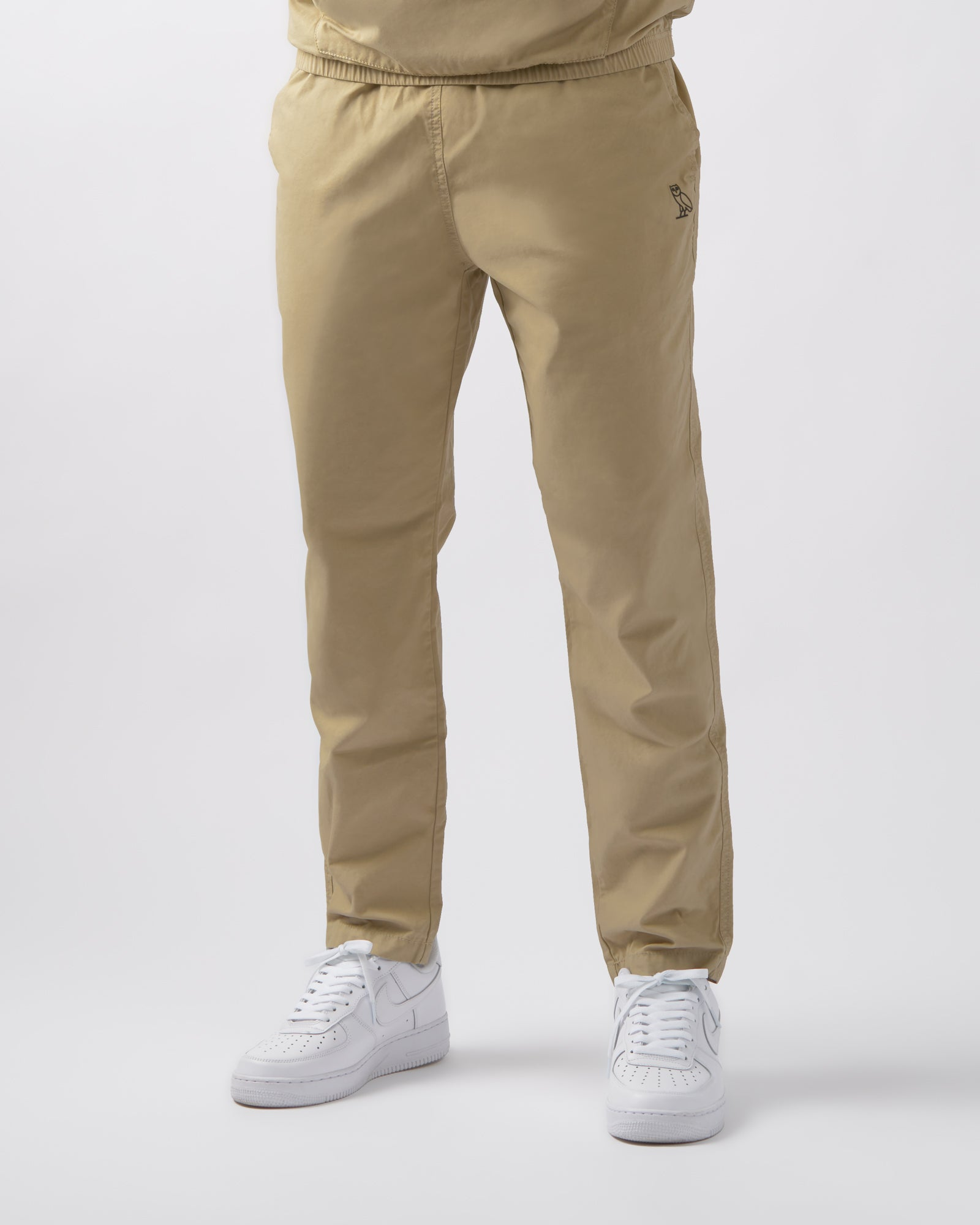 LIGHTWEIGHT WOVEN PANT - SAND IMAGE #2