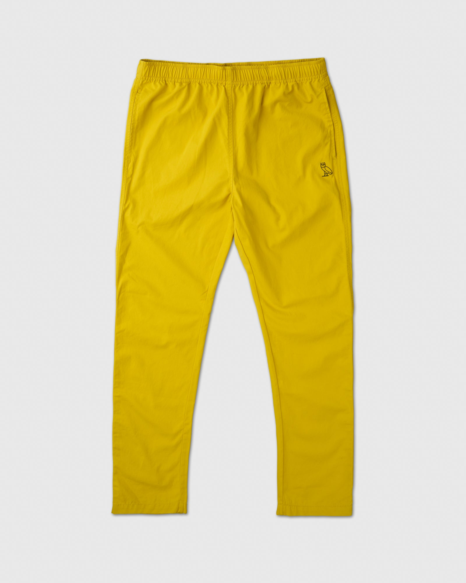 LIGHTWEIGHT WOVEN PANT - YELLOW IMAGE #1
