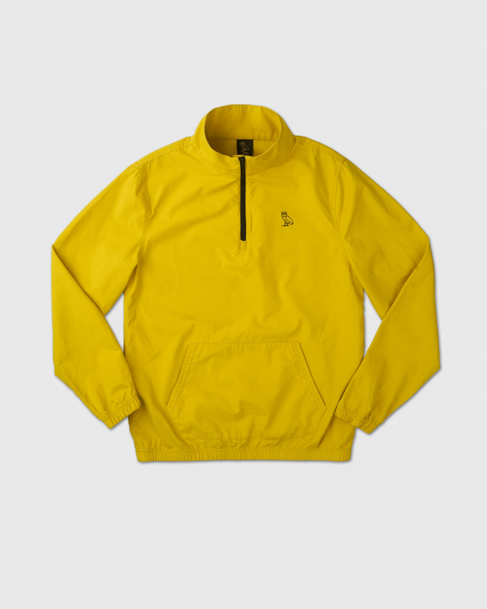 LIGHTWEIGHT WOVEN PULL OVER - YELLOW IMAGE #1