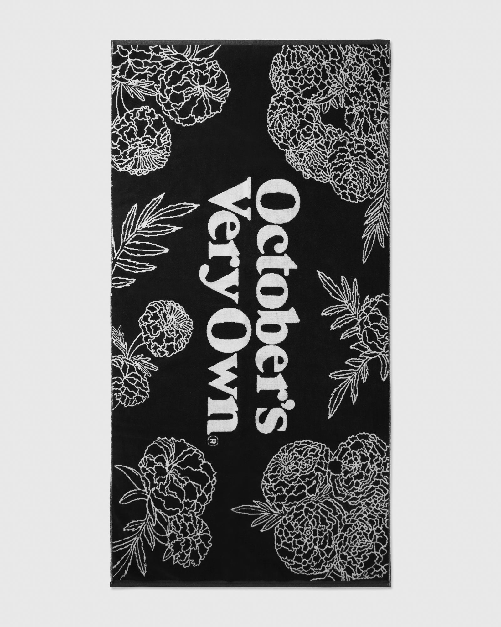 MARIGOLD BEACH TOWEL - BLACK IMAGE #1