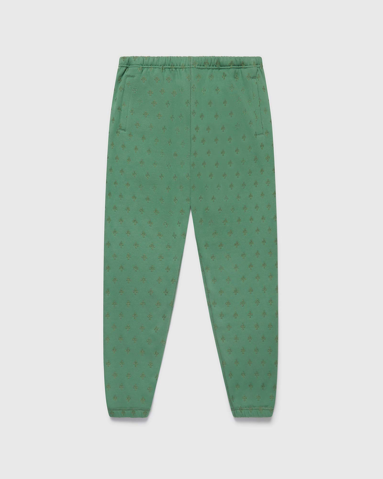 MONOGRAM SWEATPANT - EVERGREEN IMAGE #1